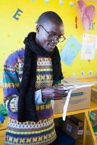 Profesor Casimiro de la Fundación Khanimambo
