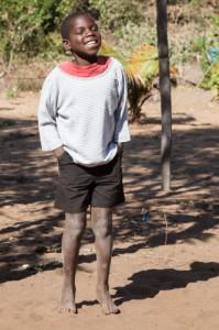 Gabriel, ahijado de la Fundación Khanimambo