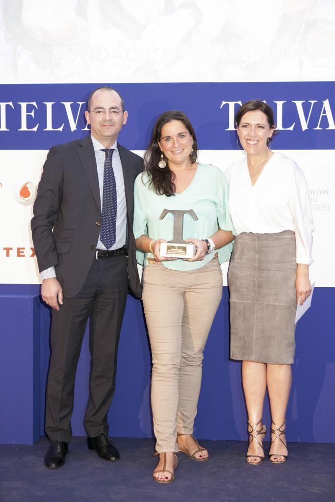 Alexia Vieira de la Fundación Khanimambo. Entrega de premios Telva