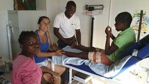 Fisioterapia en Fundación Khanimambo