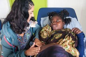Fisioterapia en la Fundación Khanimambo