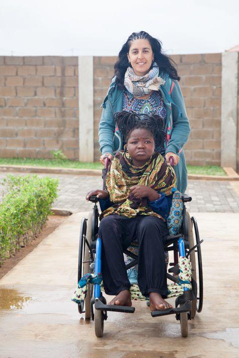 Bea con Alvina Fundación Khanimambo