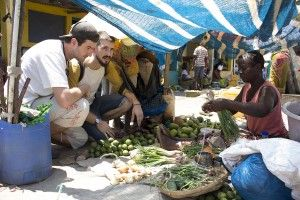 De compras en el mercado de Xai-Xai