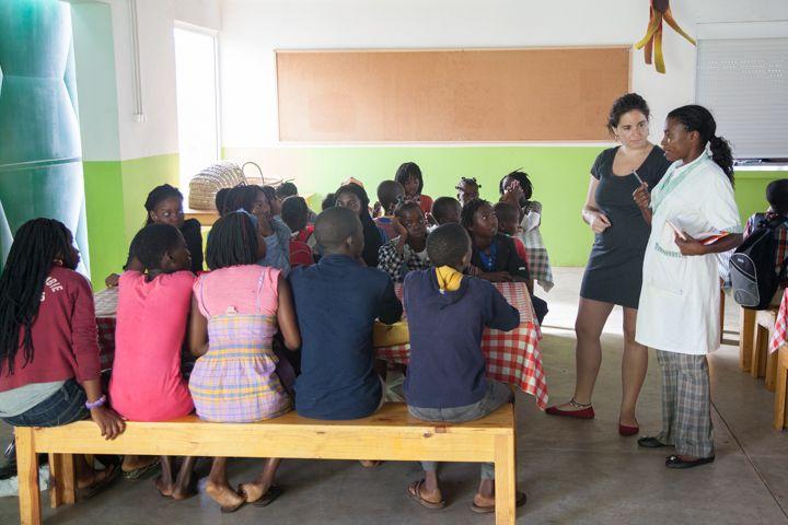 Centro Nutricional, Fundación Khanimambo