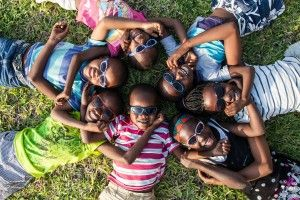Niños de la Fundación Khanimambo