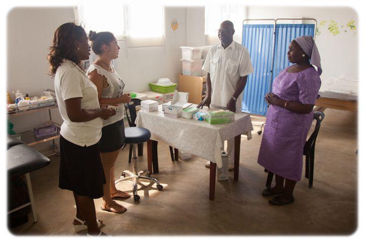 Programa de Salud, test de VIH en la Fundación Khanimambo