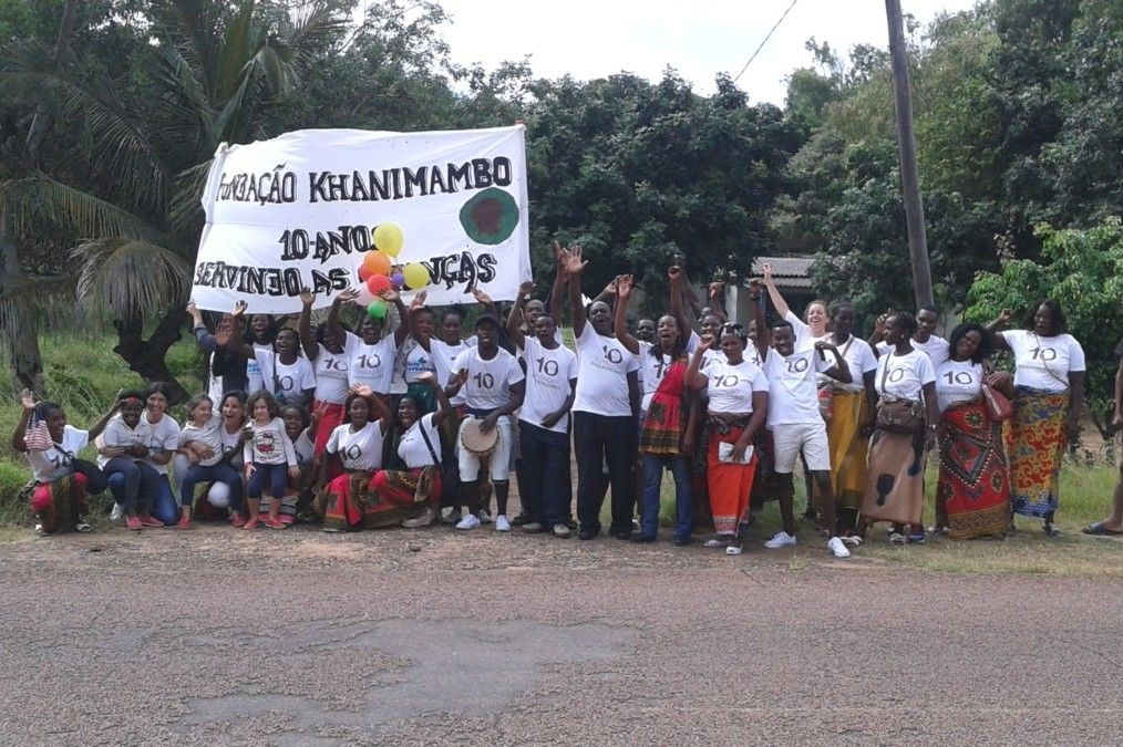 Equipo de la Fundación Khanimambo