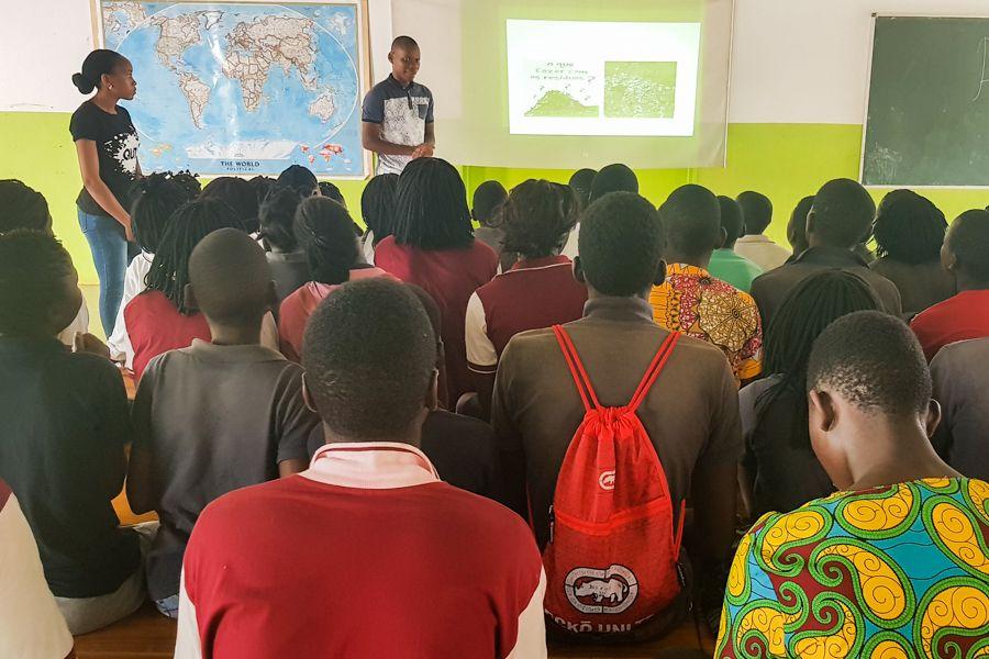 Educación ambiental infantil en la Fundación Khanimambo