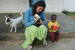 Kena, Alexia y Rael - Fundación Khanimambo