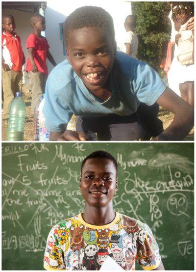 Helton, ahijado de la Fundación Khanimambo