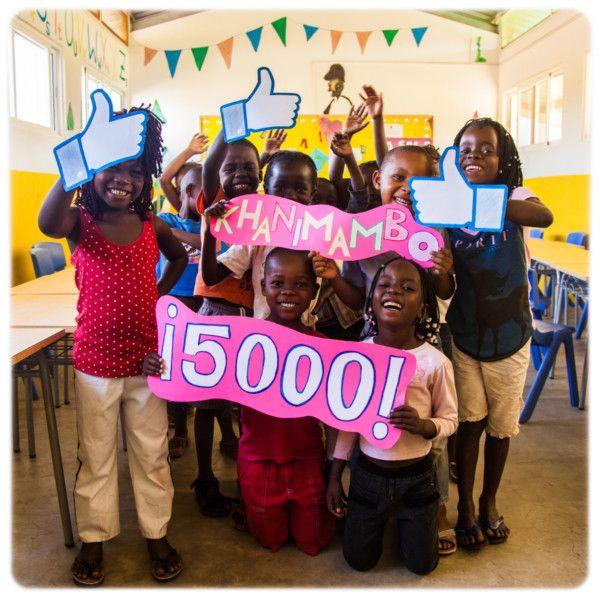 Fundación Khanimambo - 5000 likes en Facebook