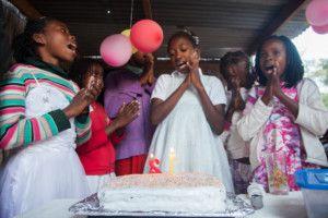 Celebramos el cumpleaños de Scarla
