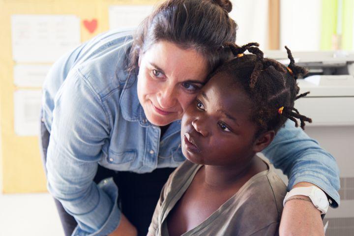 Alexia y Alvina de la Fundación Khanimambo