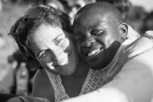 Alexia Vieira y Ernesto Damião de la Fundación Khanimambo