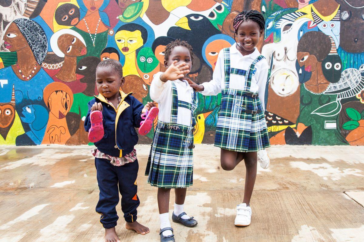 Ahijados de la Fundación Khanimambo