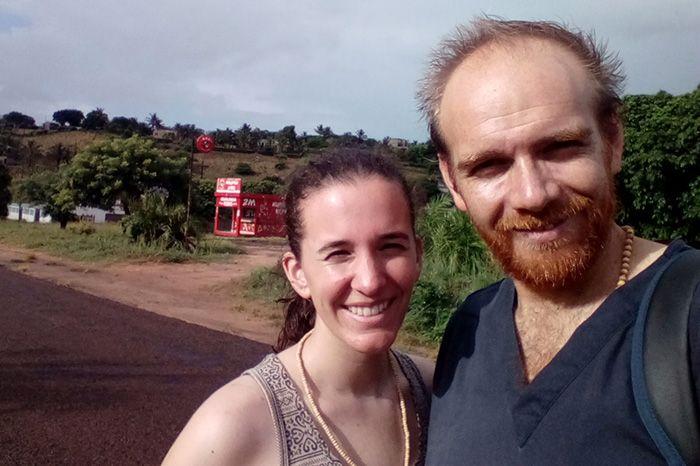 Javiera y Diego desde Chile