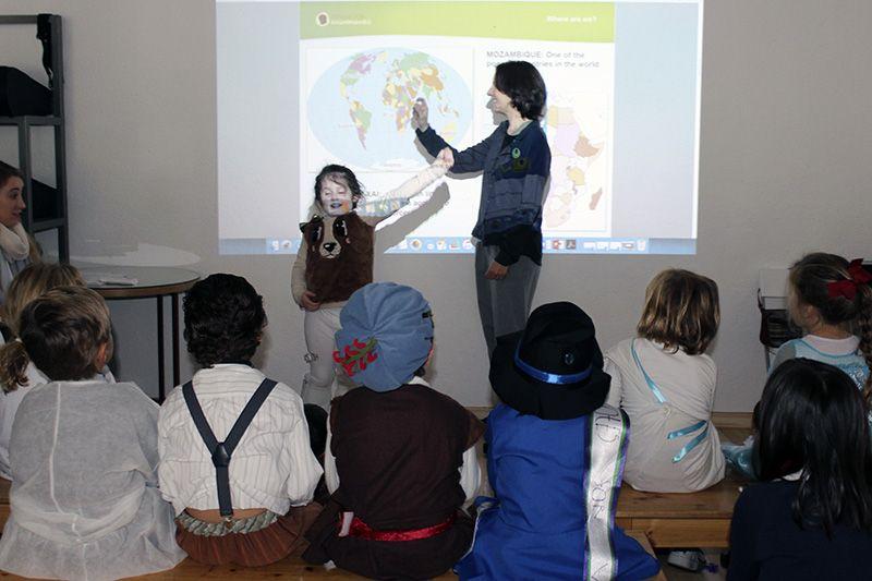 Dallington School con la Fundación Khanimambo
