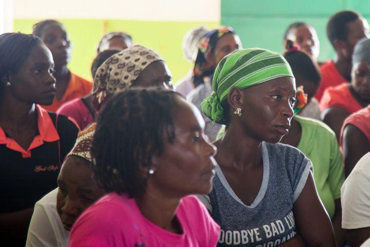 Asamblea General con la comunidad en el Centro Munti de la Fundación Khanimambo