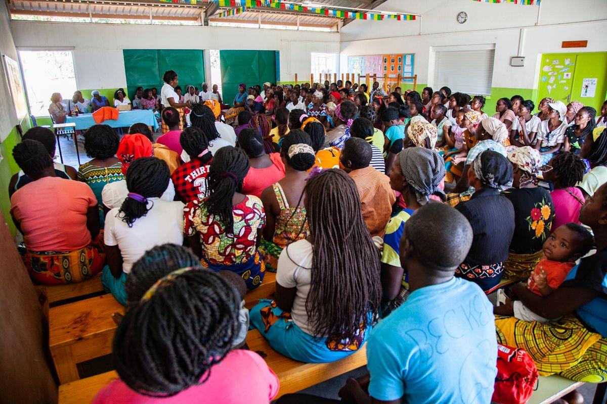 Cierre de curso 2018 en el Centro Munti de la Fundación Khanimambo en Mozambique