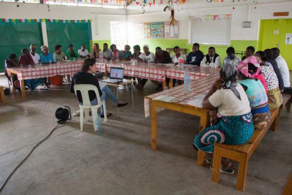 equipo de la Fundación Khanimambo 2017