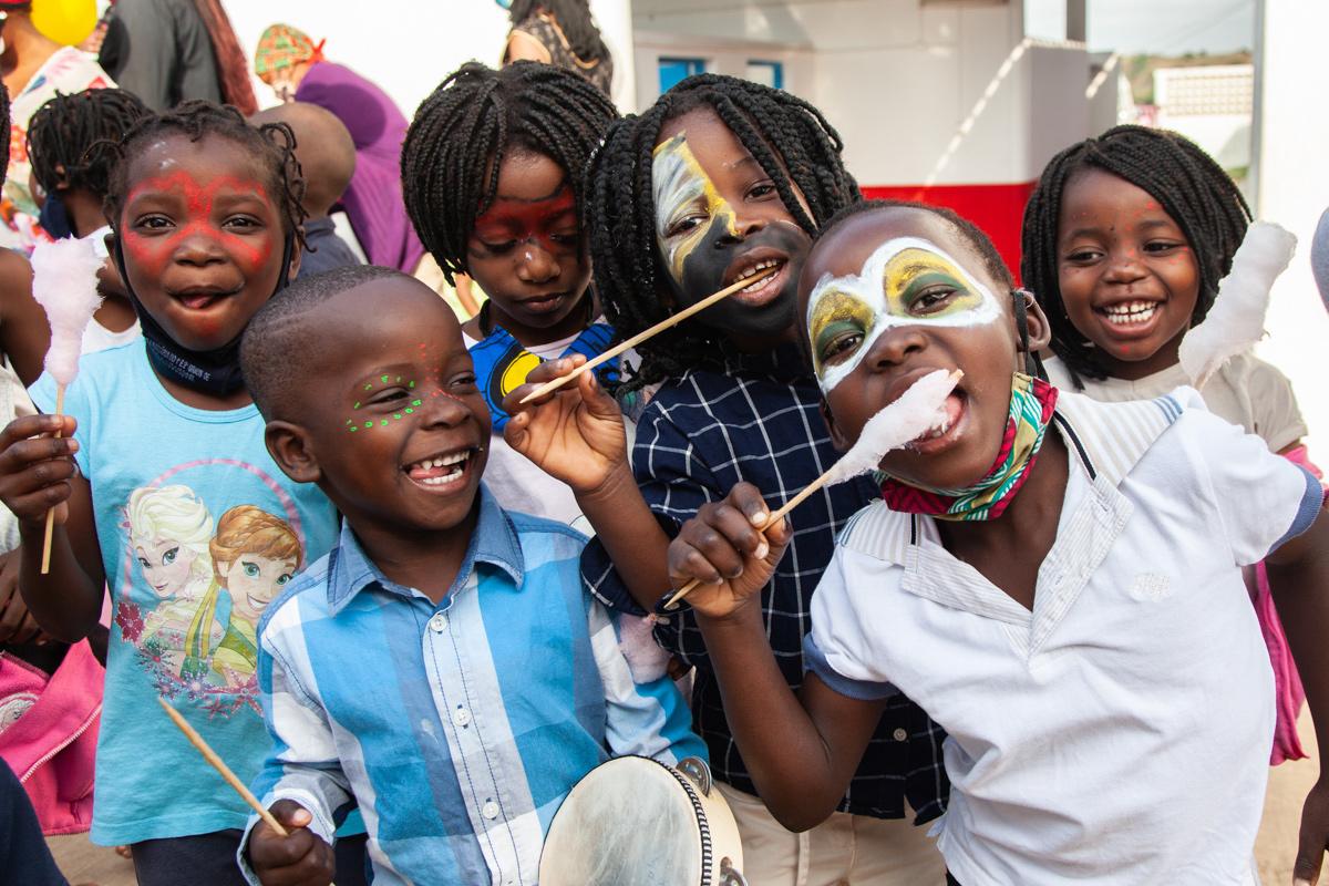 Dia da Criança na Fundação Khanimambo Moçambique