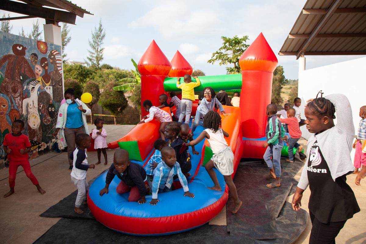 Día del Niño en la Fundación Khanimambo Mozambique