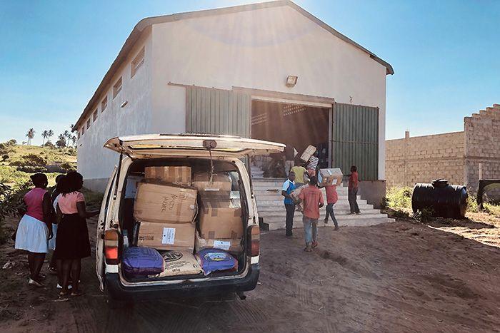 Donativos para las víctimas del Ciclón Idai