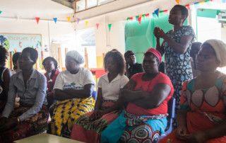 Hablamos de la violencia doméstica en la Fundación Khanimambo