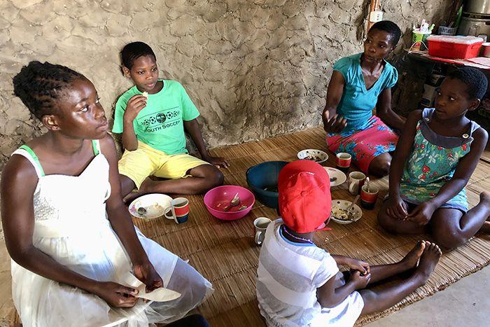 confinamiento en Mozambique