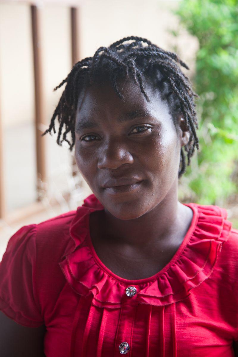 Ilda, activista de la Fundación Khanimambo