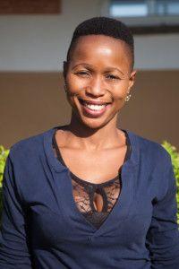 Nalia, activista de la Fundación Khanimambo