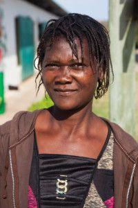 Josina, activista de la zona de Macamwine, Mozambique.