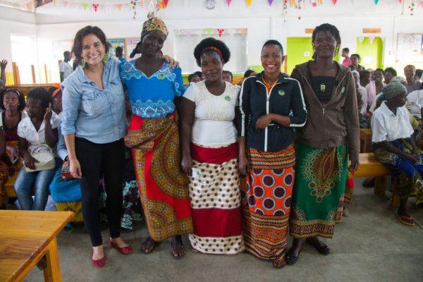 Mamás activistas de la Fundación Khanimambo