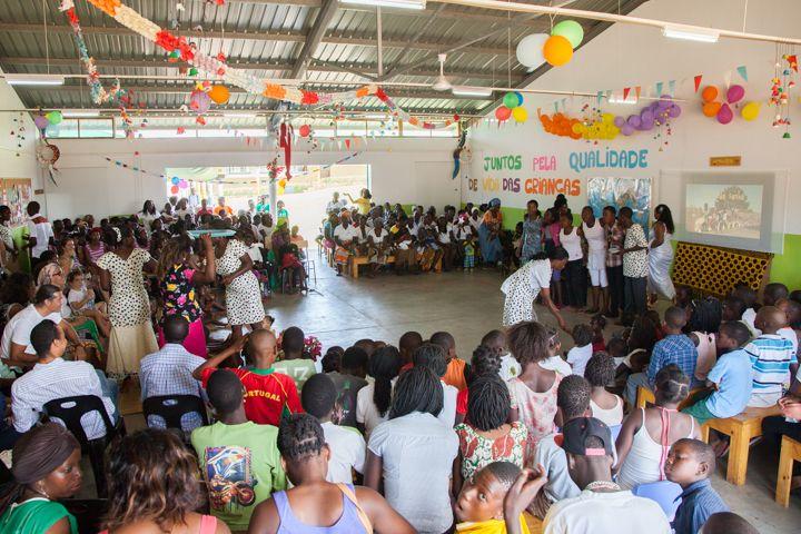 Salón Verde del Centro Munti - Fundación Khanimambo