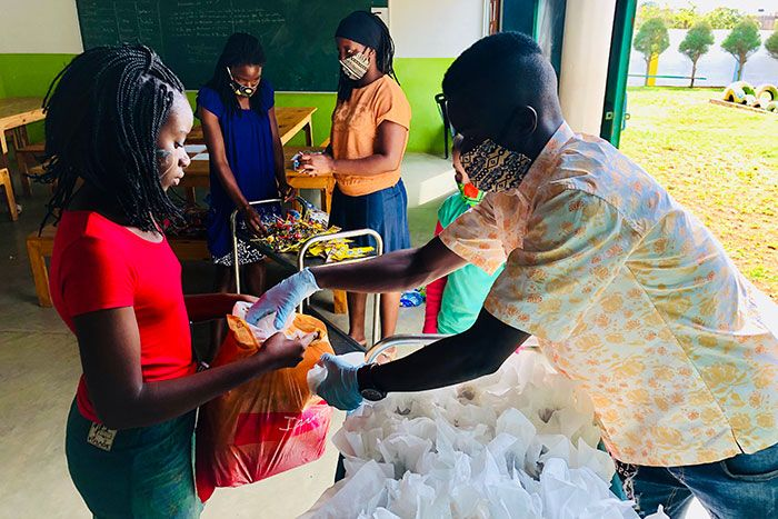 Dia da criança 2020 na Fundação Khanimambo