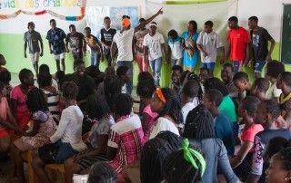 Asamblea de alumnos 2017 en la Fundación Khanimambo