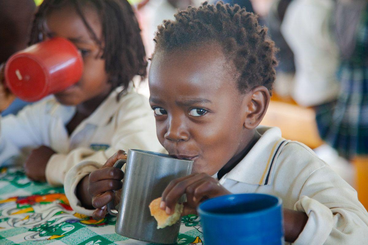 Velocidad de Cuchara con los desayunos de Khanimambo