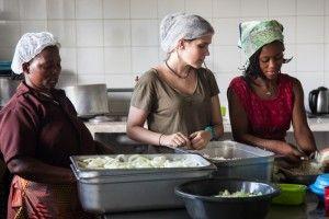 Anna, una nutricionista en el terreno