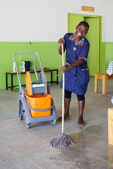Paula de la Fundación Khanimambo
