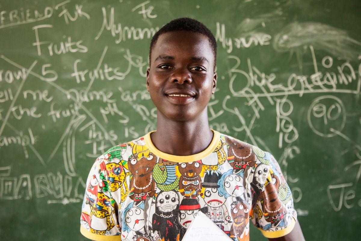 Helton, ahijado de la Fundación Khanimambo desde 2008