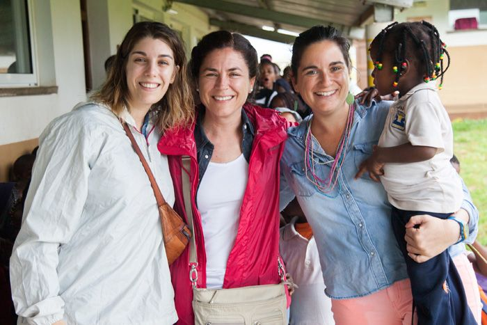 Visita de Rocío y Bea a Khanimambo