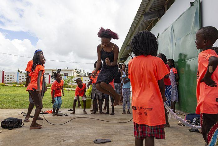 Tía Josina, primera voluntaria mozambiqueña