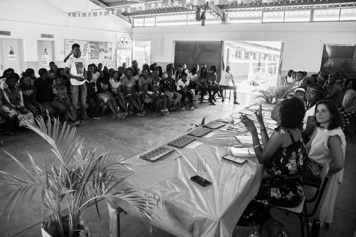 Debate en la Fundación Khanimambo