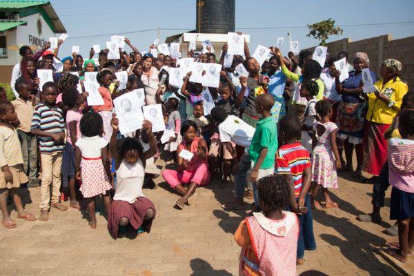 Encontramos a Chadia. Fundación Khanimambo.