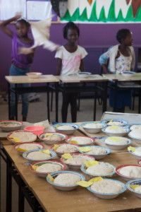 Hacemos pan en la Fundación Khanimambo