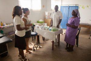 Tests de VIH en la Fundación Khanimambo