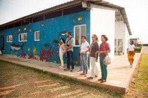 Una visita muy esperada - Visitando las instalaciones, Área de Juegos - Centro Munti de Khanimambo