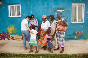 Una visita muy esperada - Conociendo personas e historias de Khanimambo