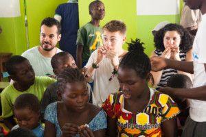 Celebrando el Día del Niño 2016 en la Fundación Khanimambo