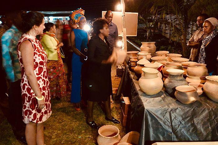 Stella da Graça Pinto Zeca en Fundación Khanimambo